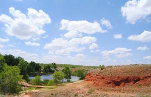 Hutchinson County, Texas near Lake Meredith