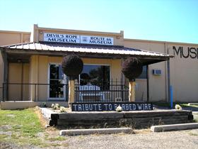 Devil's Rope Museum in McLean, Texas