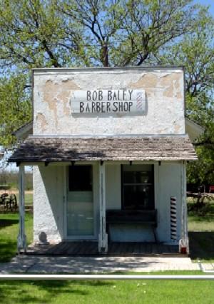 Old Mobeetie Barbershop