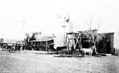 Mobeetie, Texas, early 1900s