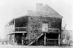 Old Stone Fort, Nacogdoches, 1885