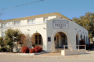 Rock Springs Texas Hotel Pecos Heritage Trail History Map Directions And