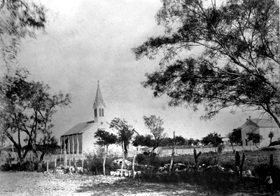 St. Dominic's Catholic Church and St. Anthony's School, Old D'Hanis, Texas