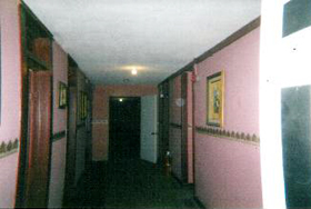 Hallway in the Ott Hotel