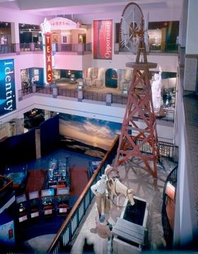 View of the TSHM Exhibit Hall