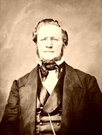 Brigham Young between 1855 and 1865