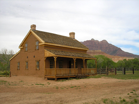 Grafton, Utah Alonzo Russell Home