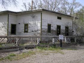 Railroad Station, Thompson Springs, Utah