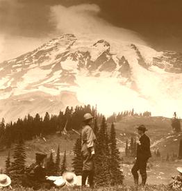 Mount Tacoma around the turn of the century.