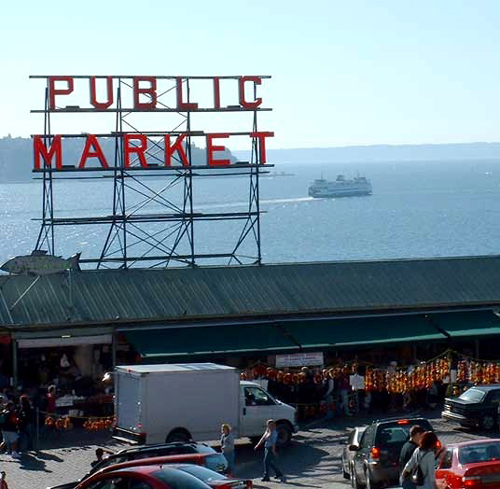 Pike Place Market Today Photo By Stéphane Gauthier University Of Washington