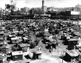 Seattle was home to one of the largest and longest lasting Hoovervilles