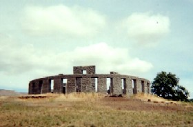 Stonehenge in Maryhill, Washington