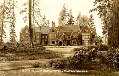 The Ghosts Of Thornewood Castle In Lakewood Washington