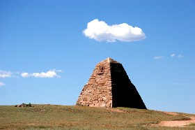 Ames Monument near Laramie, Wyoming