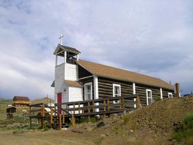 Atlantic City, Wyoming Church