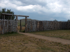 Fort Phil Kearny today