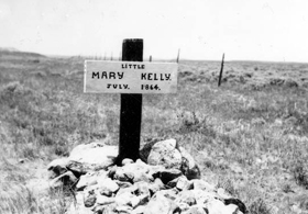 Mary Hurley Kelly Grave, Wyoming