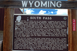 South Pass Wyoming Sign. Mike DeLeonardis 2006