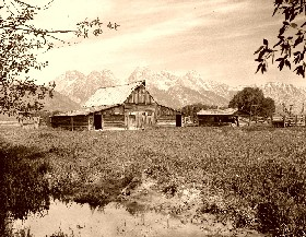 Grand Tetons Barn