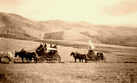 Crossing the Wyoming grasslands