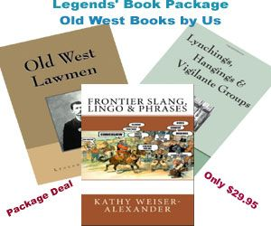 Legends Old West Book Package