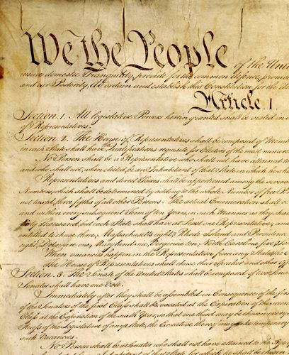 about the united states constitution legends of america