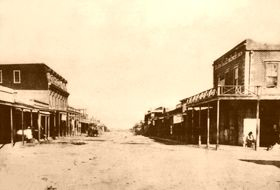 Allen Street, Tombstone, Arizona, 1882