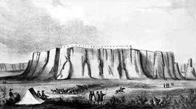 Acoma Pueblo, 1846