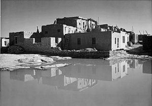 Acoma Pueblo, New Mexico by Ansel Adams, 1941