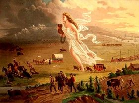 American Progress by John Gast in 1872.