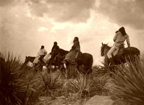 Apache Before the Storm, Edward S. Curtis, 1906