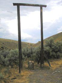 Bannock, Montana Gallows