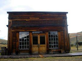 Cy Skinner's Saloon, Bannock Montana
