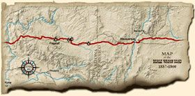 Beale Wagon Road Map