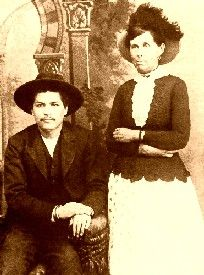 Outlaws Belle Starr and Blue Duck