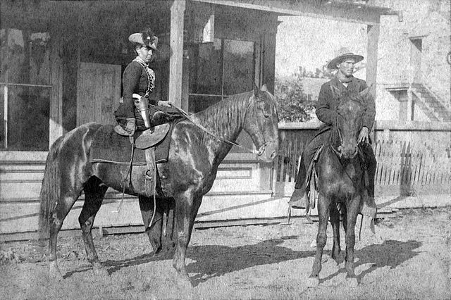 Belle Starr at Fort Smith, Arkansas