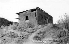 Blazer Mill Ruins, 1934