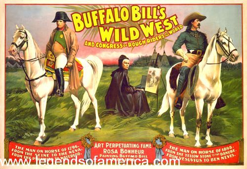 Buffalo Bill's Wild West, Courier Litho. Co, 1899