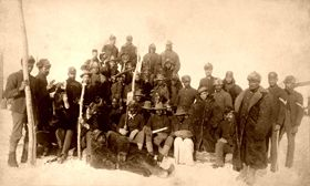 Buffalo Soldiers in 1890.