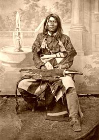 Modoc Chief Kintpuash, also known as Captain Jack