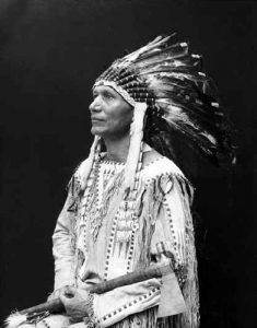 Charles Eastman in traditional Sioux clothing