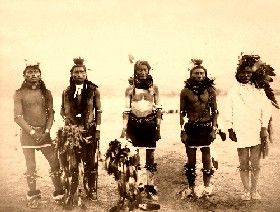 Cheyenne Dancers by John Graybill, 1890