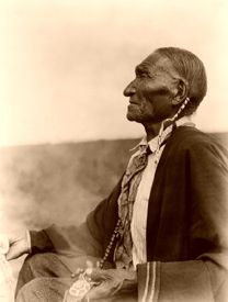 Cheyenne Peyote Leader by Edward S. Curtis