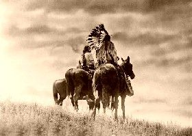 Cheyenne Warriors by Edward S. Curtis