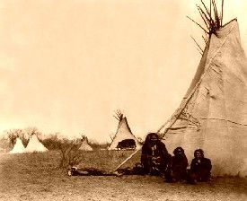 Comanche Camp, 1873