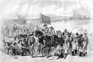 Confederate Troops, Harper's Weekly, 1862