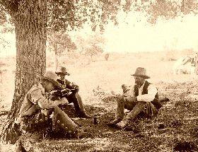 Cowboys Taking a Break