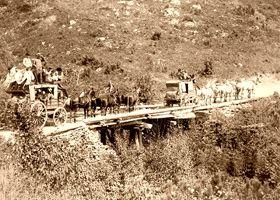 The Deadwood Stagecoach by John Grabill, 1889