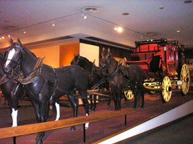 The Deadwood Stage in the Buffalo Bill Historical Center in Cody, Wyoming Kathy Wesier