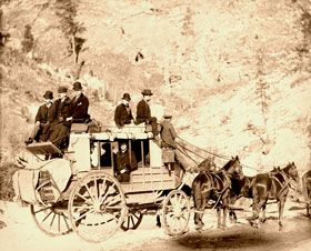 Deadwood Stagecoach, 1889